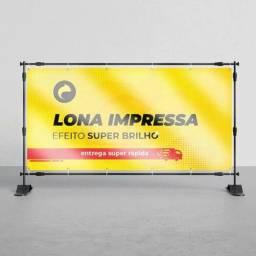 Título do anúncio: Lonas impressas apartir de 40 .00 m2