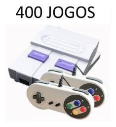 Super Nintendo Retrô 400 jogos