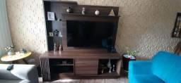 Estante tipo Rack com painel para TV até 60 polegadas