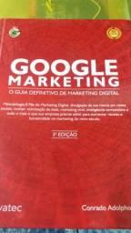 Livro Google marketing,novo,r$100,00