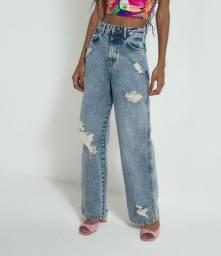 Calça Jeans Pantalona 40