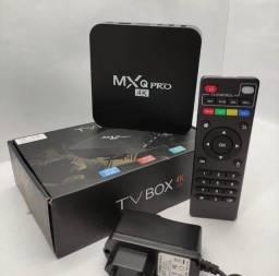 Tv Box, MxQ pro 11.1 258 GB. Configurado e Testado Antes do Envio