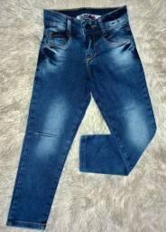 Calça masculina com navalhado no joelho BrinkLink