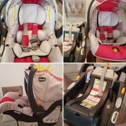 Título do anúncio: Bebê conforto Chicco keyfit com base
