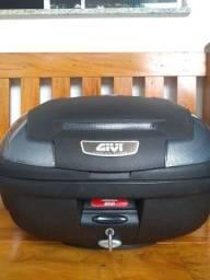 Bau Givi Bauleto Monolock E470NT Simply 47L 2 capacetes Fumê