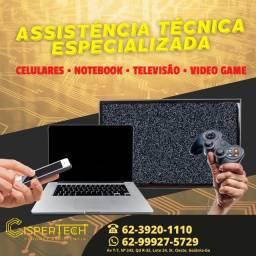 Assistência Técnica Especializada Celular, Notebook, Videogame e Tv