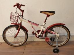 Título do anúncio: Bicicleta aro 20 Moranguinho