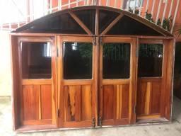 4 janelas de macacauba