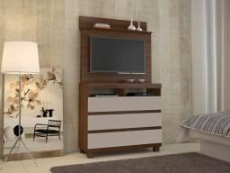 Título do anúncio: Comoda Pampulha 3Gav Painel TV - Frete Grátis - 10x S/ Juros - Receba Hoje