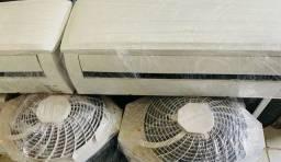 Ar condicionado 9.000btu/h seminovo.