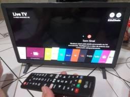 Smart lg24p wi-fi semi-nova 650reais
