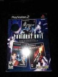 Resident Evil - Box The Essentials Black Label Ps2