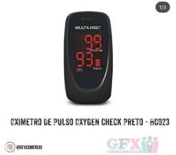HCO23 OXYGEN CHECK PRETO ( oxímetro de pulso )