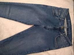 Calça Jeans Skinny - Azul Escuro