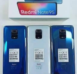 Celular Xiaomi Redmi Note 9S 128Gb 6Gb Ram Novo Lacrado