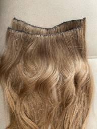 Mega Hair loiro natural 70 cm