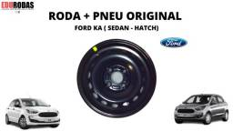 Roda + Pneu Original Ford Ka ( Hatch . Sedan )