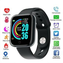 Relógio Smart Watch com Bluetooth USB com Monitor Cardíaco