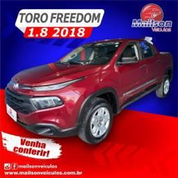 Toro 2018 Freedom 1.8 Automática.