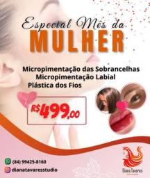 Micropigmentação Combo