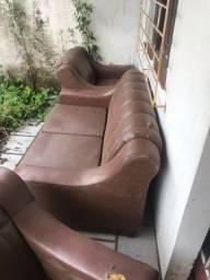 Conjunto sofá antigo
