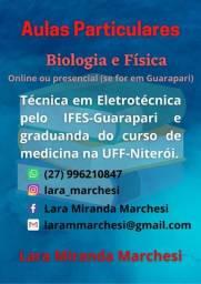 Aulas Particulares (Biologia e Física)