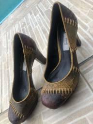 Sapato de couro swains