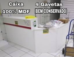 Caixa (balcão) 100% MDF bem conservado!