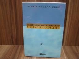 Livro: Compêndio de introdução à ciência do direito / Maria Helena Diniz