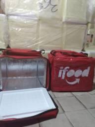 Motoboy bag com isopor 45 litros lâminado