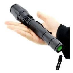 Lanterna Tática Profissional Led 990000w 2 Baterias Forte<br>