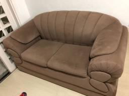 Conjunto sofás 2 e 3 lugares - Móveis Lider