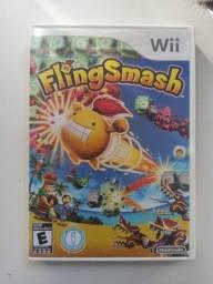 Jogo Fling Smash - Nintendo Wii - Mídia física