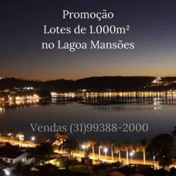Lotes em Lagoa Santa. Asfalto, Rede Elétrica e de Água. 32.989 + Parcelas