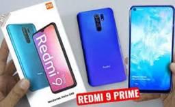 Redmi 9 Prime Verde/Preto/Azul 4+64 GB Índia Leiam na descrição
