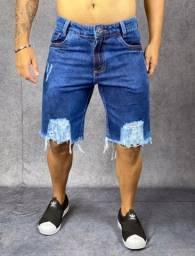 Bermudas jeans e calça jogger