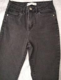 Calça Jeans Preta - Skinny
