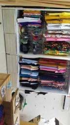 Roupeiro estante para loja R$700,00