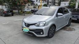 Toyota Etios Platinum Automático 18/18 Única Dona - Oportunidade