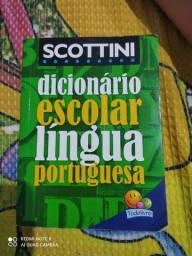 Título do anúncio: Dicionario escolar todolivro novo