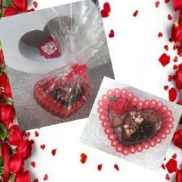 Cestas de chocolate para o Dia dos Namorados