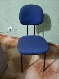 Título do anúncio: Duas cadeiras de escritório fixas