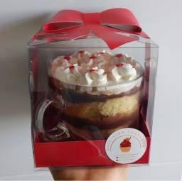 Dia dos namorados - Doce Xícara - Perfeita para presentear o seu amor!