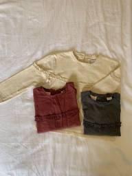 Título do anúncio: 3 camisetas infantil Zara