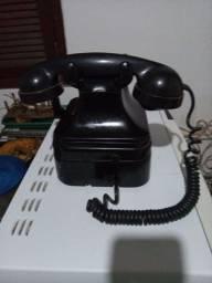 Telefone antigo manivela