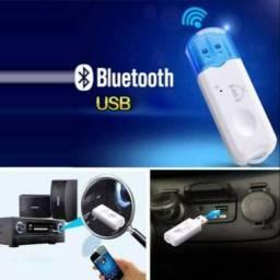Novo - Bluetooth Para Carro Receptor Adaptador Usb Wireless Dongle - 2