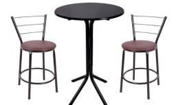 Título do anúncio: Bistrô kids assento marrom e mesa preta