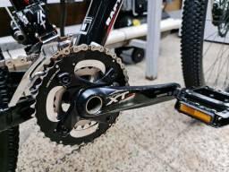 Bicicleta BTM Venzo, kit Shimano XT