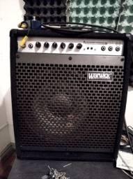 "Amplificador de contra baixo Warwick BC80 12"""