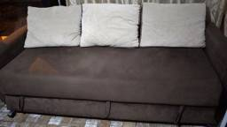 Ótimo sofá cama